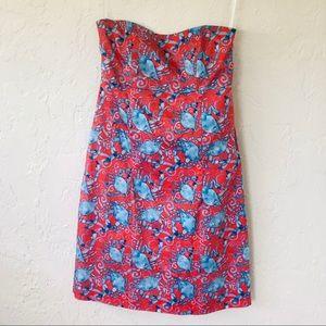 Kaeli Smith Strapless Open Back Sundress Size 4